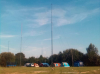 Antennas at Bexon Lane Field Event